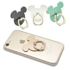Mickey mouse phone stand holder ring minnie disney